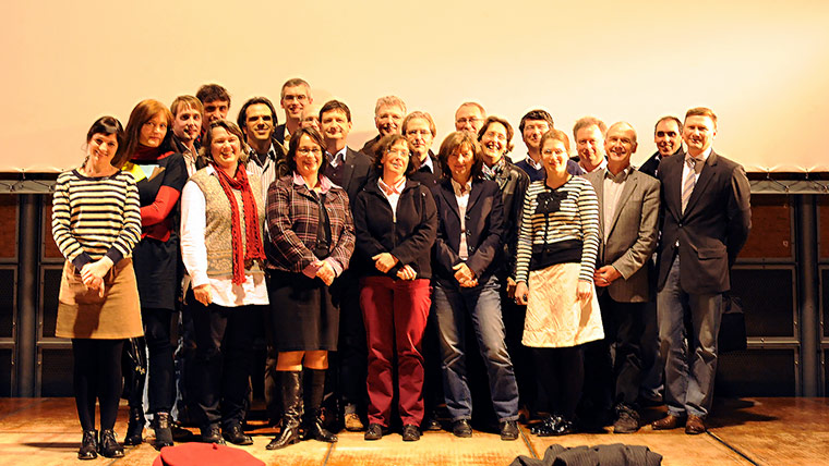 Participants of the kick-off meeting in Hamburg
